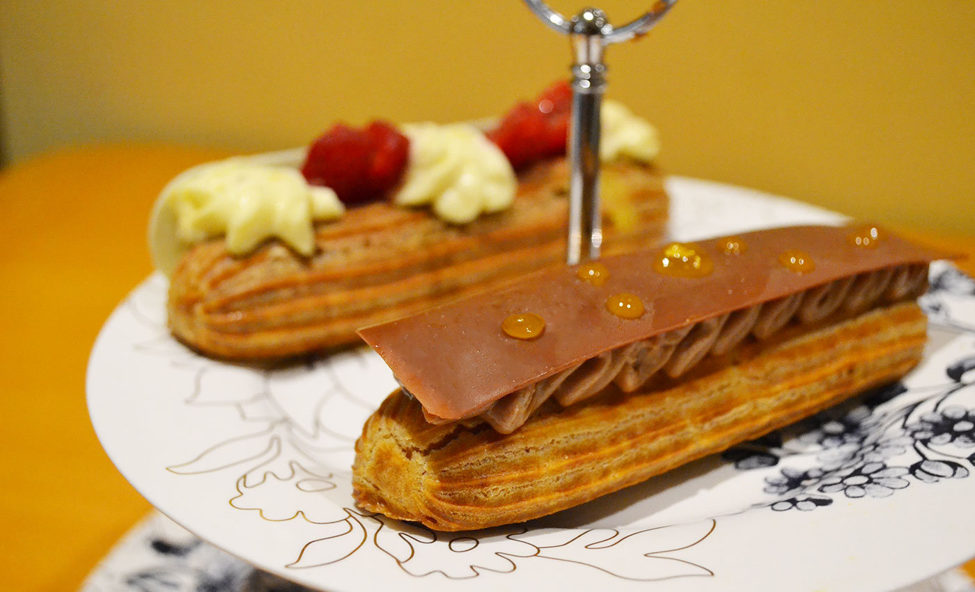 Eclairs at Melba at the Savoy