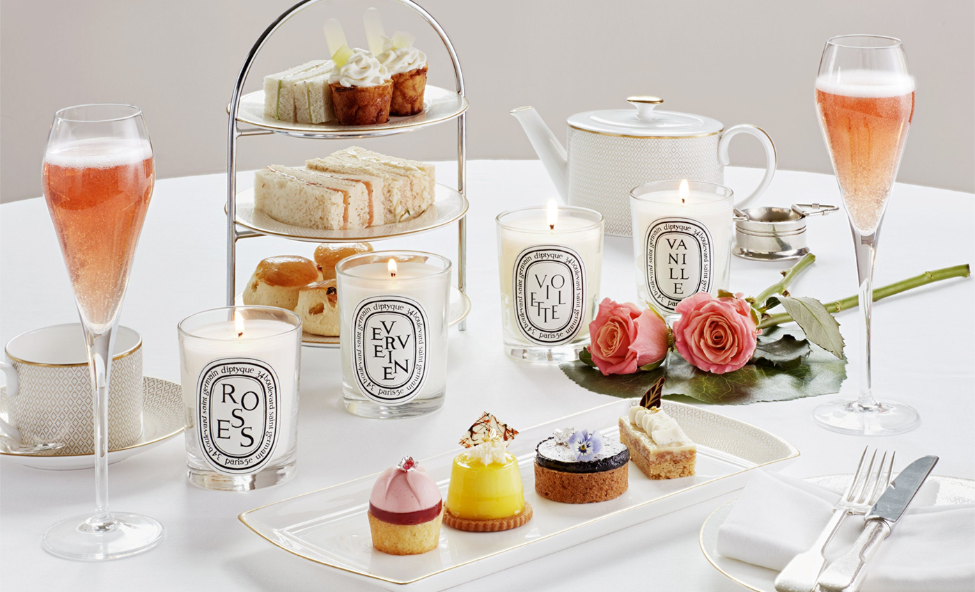Hotel Cafe Royal launches Diptyque Afternoon Tea